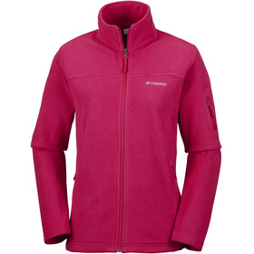Columbia Fast Trek II Jacket Women Pomegranate